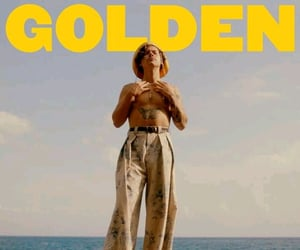 boy, golden, and Hot image