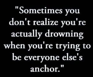 anchor, drowning, and everyone image