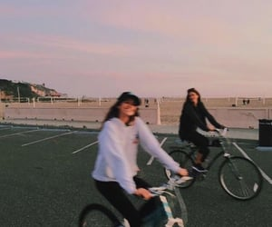 bikes, chill, and trip image