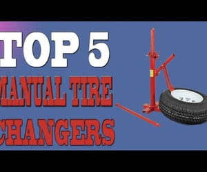 tire tools, tire changer, and best manual tire changers image