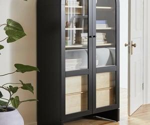 cabinet, casa, and interior image