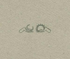 moon, sun, and drawing image