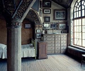 aesthetic, bedroom, and dark image