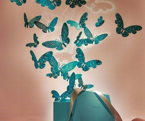 butterfly, fashion, and tiffany&co image