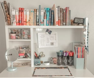 books, notices, and college image