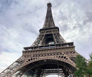 beauty, eiffel, and eiffeltower image