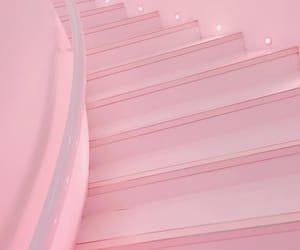 aesthetic, pink, and spiral image
