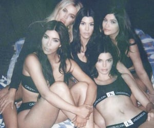 Kendall, polaroid, and jenner image