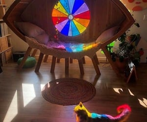 cat, hippie, and light image