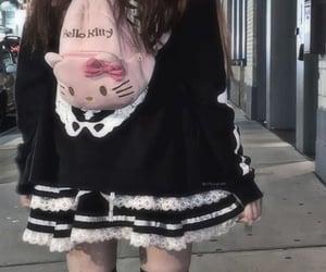 aesthetic, girl, and hello kitty image