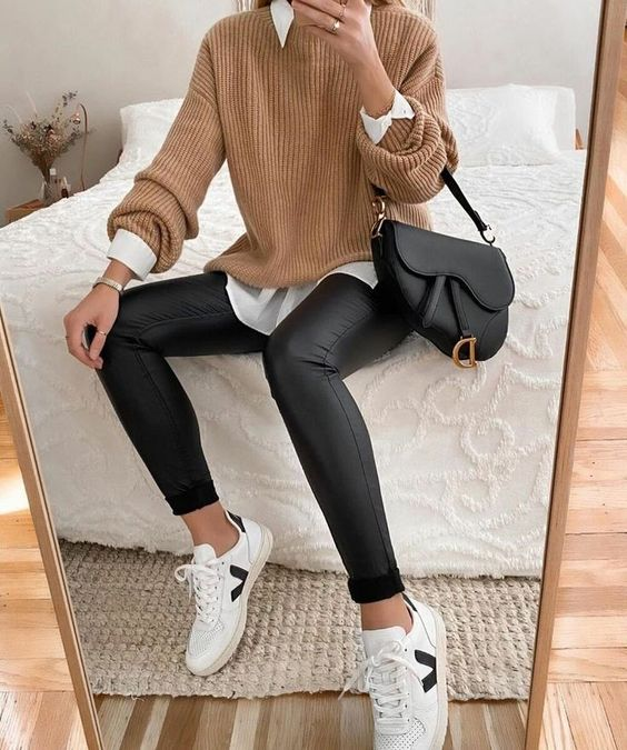 fashion, outfit, and moda image