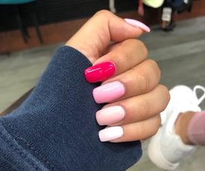 nail, pink, and nail ideas image
