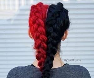 braided hair, braids, and Haistyle image