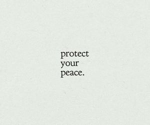 protect, deep quotes, and peace image