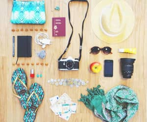 bright colors, palette, and flatlays image