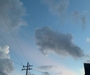 aesthetic, clouds, and nubes image