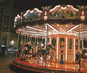 carousel, fairytale, and florence image