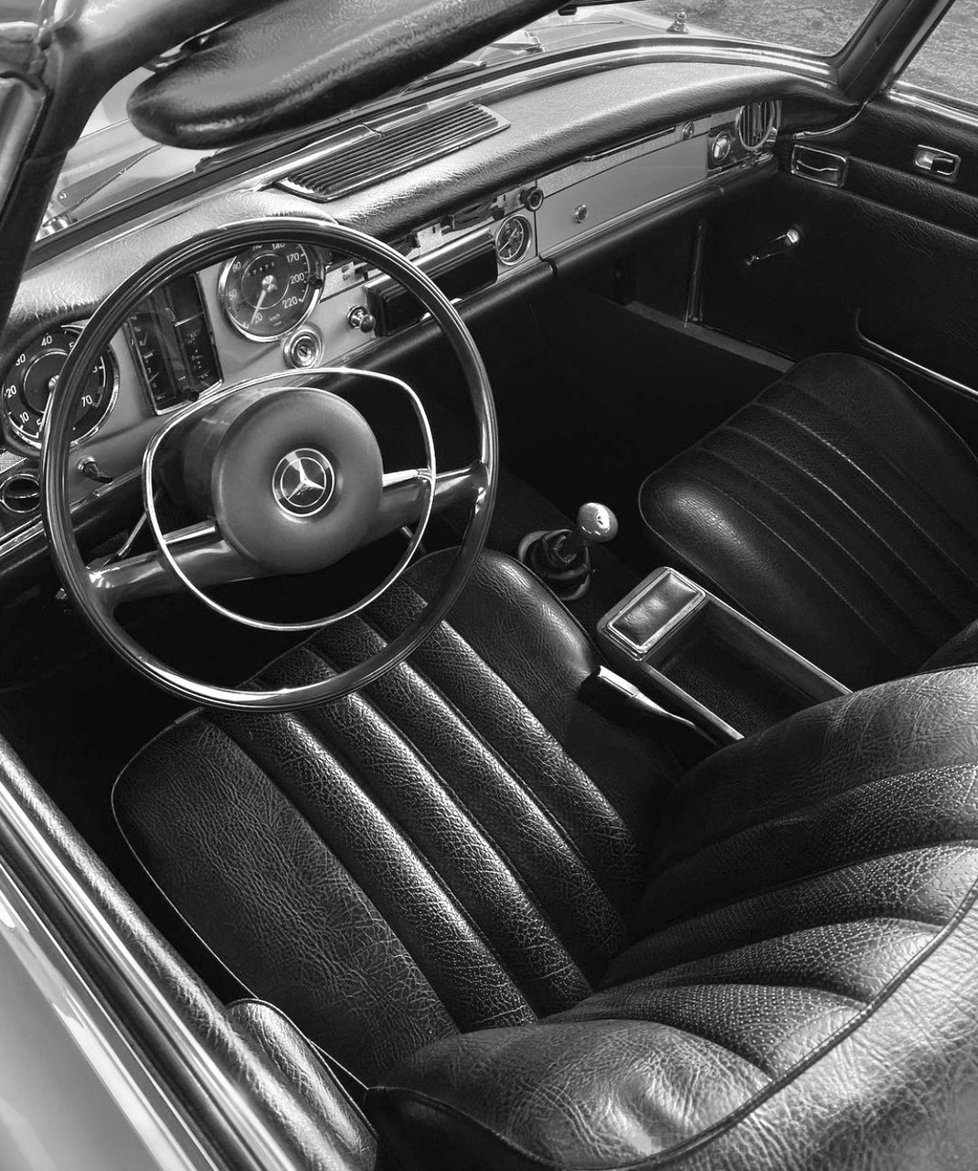 black and white, car, and b&w image