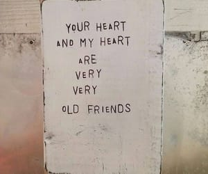aesthetic, heart, and quote image