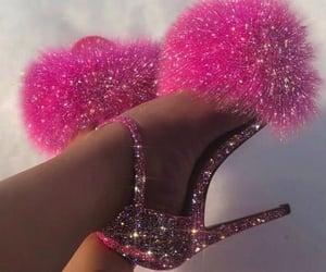 aesthetic, heels, and y2k image