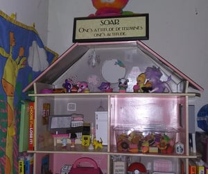 dollhouses, positive vibes, and pink image