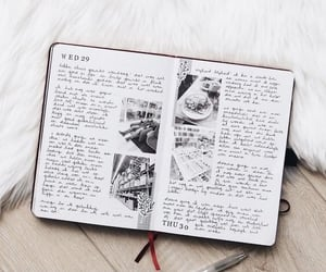 writing and bullet journal image