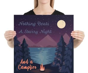 campfire, etsy, and outdoors image