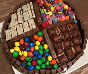 Kitkat double chocolate cake.