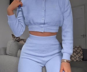blue, clothes, and style image
