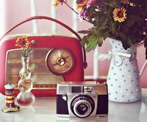 retro, vintage, and radio image