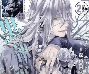 kuroshitsuji, manga, and undertaker image