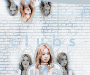 blue, kpop, and themes image