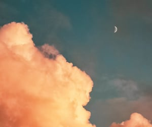 blue, cielo, and pink image