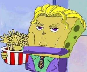 spongebob, jjba, and kira yoshikage image