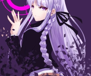 disappearing, kirigiri kyouko, and danganronpa image
