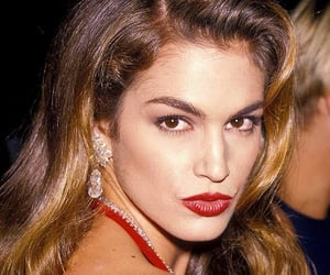 beauty, cindy crawford, and lux image