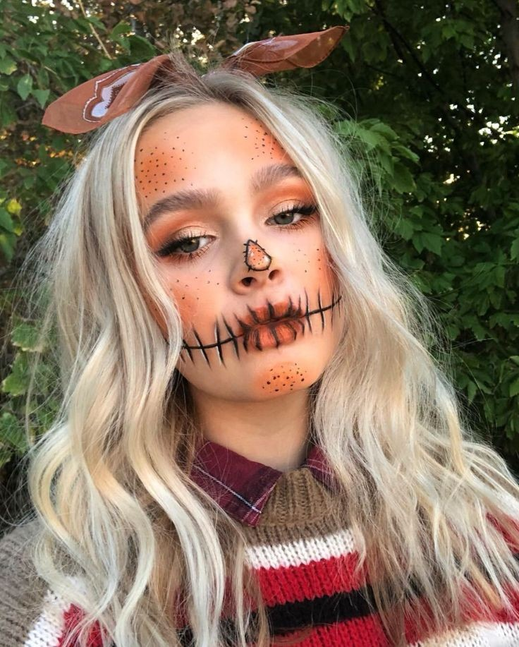costume, makeup, and autumn image