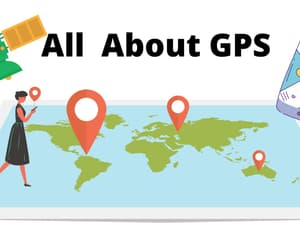 google, gps, and location image