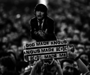 ACDC, bands, and black and white image