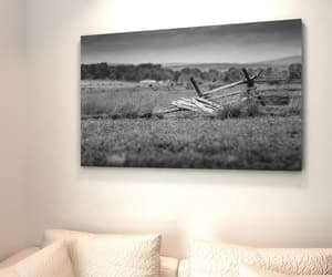 black and white, canvas wall art, and travel destination image