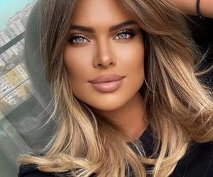 beauty, chic, and lipstick image