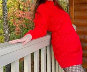 dress, fashion, and heather image