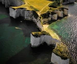 dorset, landscape, and old harry rocks image