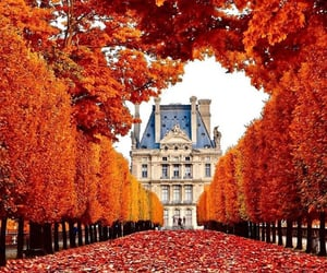autumn, Houses, and place image