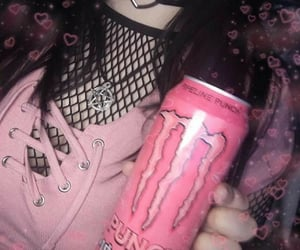 pink, alt, and goth image