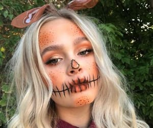 makeup, autumn, and costume image