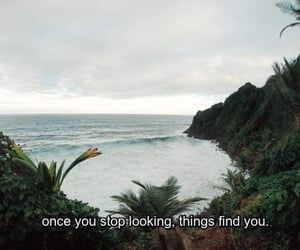 When you stop looking you don't care anymore.
