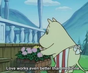 quote, love, and cartoon image
