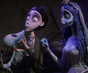 autumn, corpse bride, and fall image