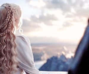 daenerys targaryen, g r r martin, and gif image